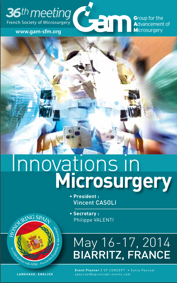 GAM 2014 - Innovations in MicrosurgeryGAM 2014 - Innovations in Microsurgery